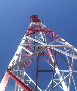 4 legs angular tower